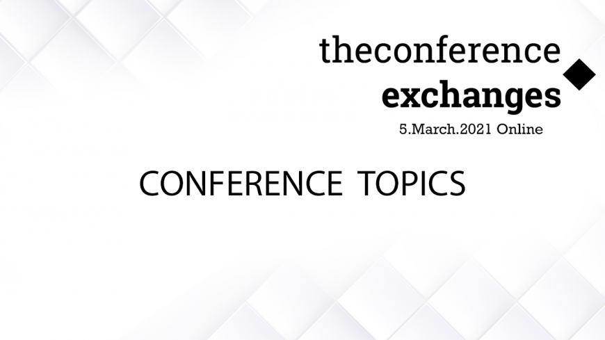The backbone of the Conference's agenda is ready!